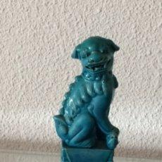 Antigüedades: FIGURA PORCELANA CHINA PERRO DE FO. Lote 178715967