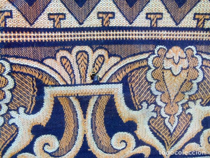 Antigüedades: TAPIZ TIPO ESTANDARTE, GRANDE 2,97M X 1,22 M, VER FOTOS .W - Foto 2 - 178716493