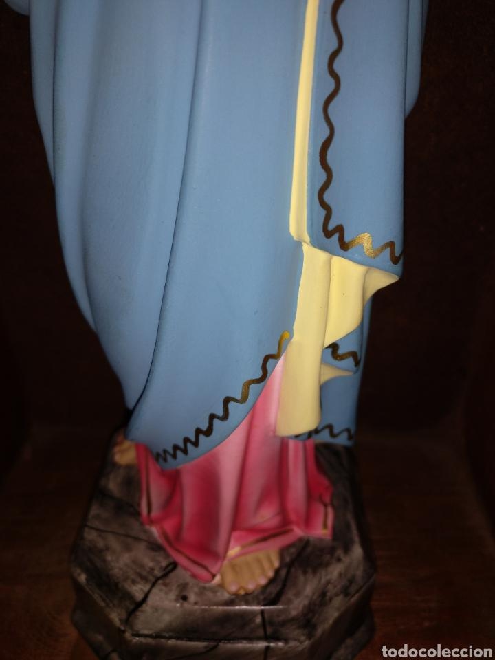 Antigüedades: Antigua Maria auxiliadora, Olot con capilla limosnera o visitadora estado de conservación magnífico - Foto 5 - 178717536