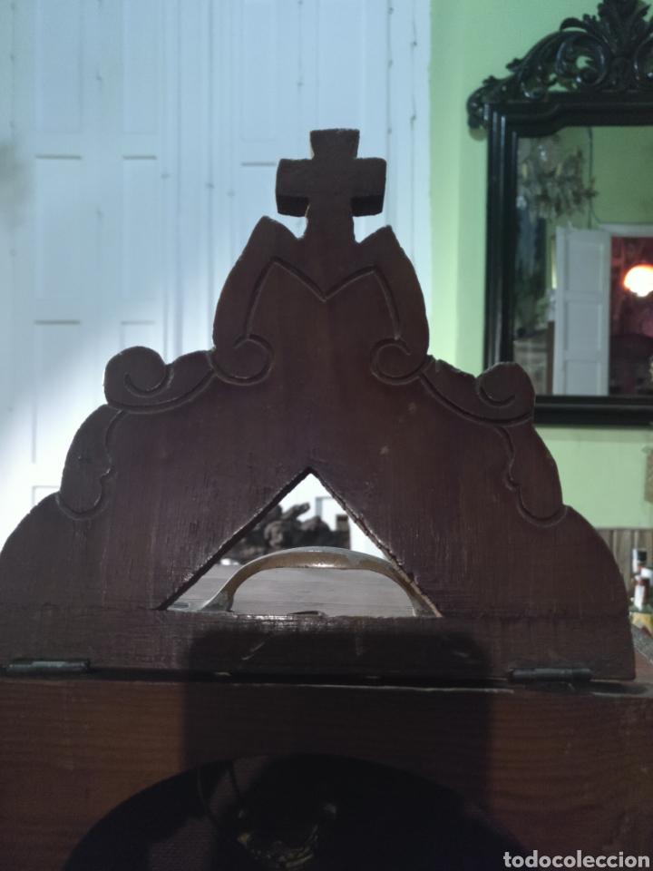 Antigüedades: Antigua Maria auxiliadora, Olot con capilla limosnera o visitadora estado de conservación magnífico - Foto 7 - 178717536