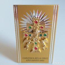 Antigüedades: PLACA CONMEMORATIVA. CARAVACA DE LA CRUZ. AÑO SANTO 2003. Lote 178718771