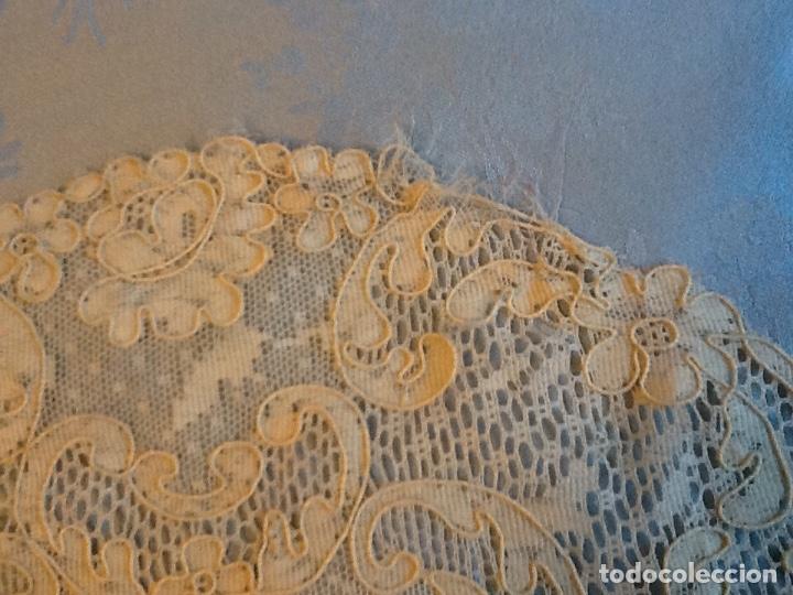 Antigüedades: Preciosos tapetes de Alencon juego de tres - Foto 6 - 178747011