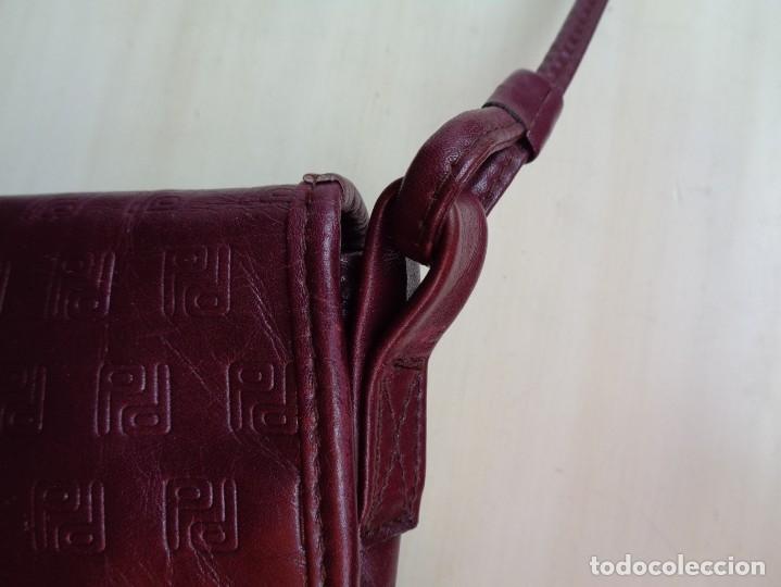 Antigüedades: PEQUEÑO BOLSO DE PERTEGAZ EN PIEL - Foto 6 - 175345315