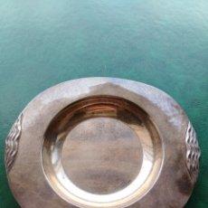 Antigüedades: BANDEJITA PLATA DE LEY CON CONTRASTES.. Lote 178774938