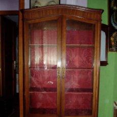 Antigüedades: VITRINA O BIBLIOTECA SIGLO XIX. Lote 178785427