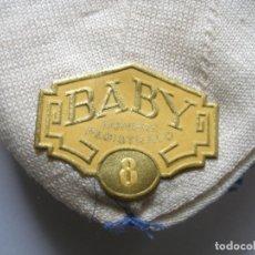 Antigüedades: CALCETINES ( 21 X 14 CM ) MARCA BABY AÑOS 30 SIN USO. Lote 178785532