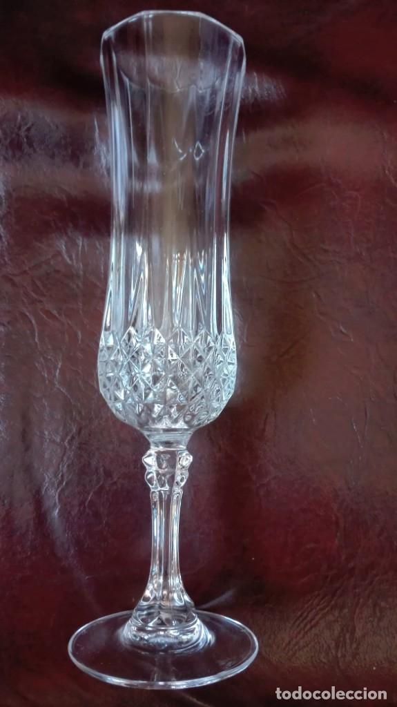 Antigüedades: Copa de cristal tallado - Foto 2 - 178788210
