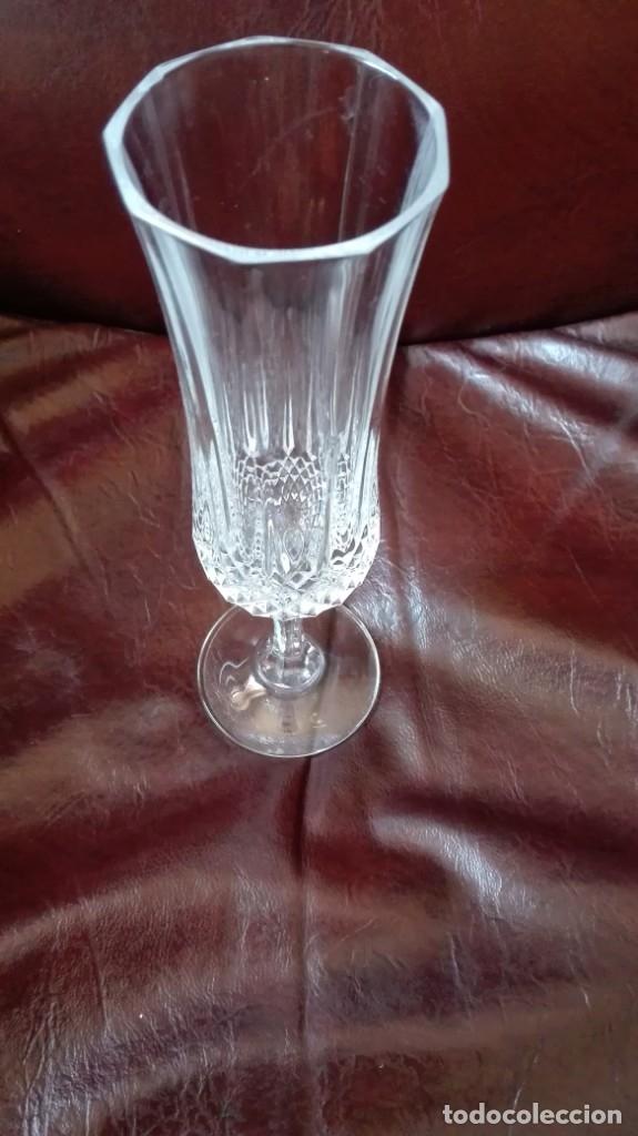 Antigüedades: Copa de cristal tallado - Foto 2 - 178788303