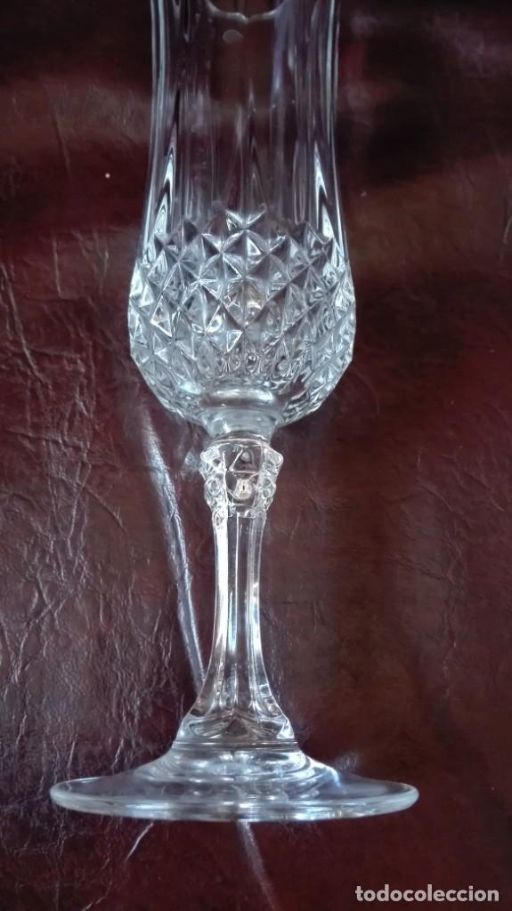 Antigüedades: Copa de cristal tallado - Foto 3 - 178788303