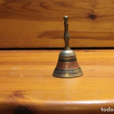 Antigüedades: ANTIGUA CAMPANA DE LATON. Lote 178794152
