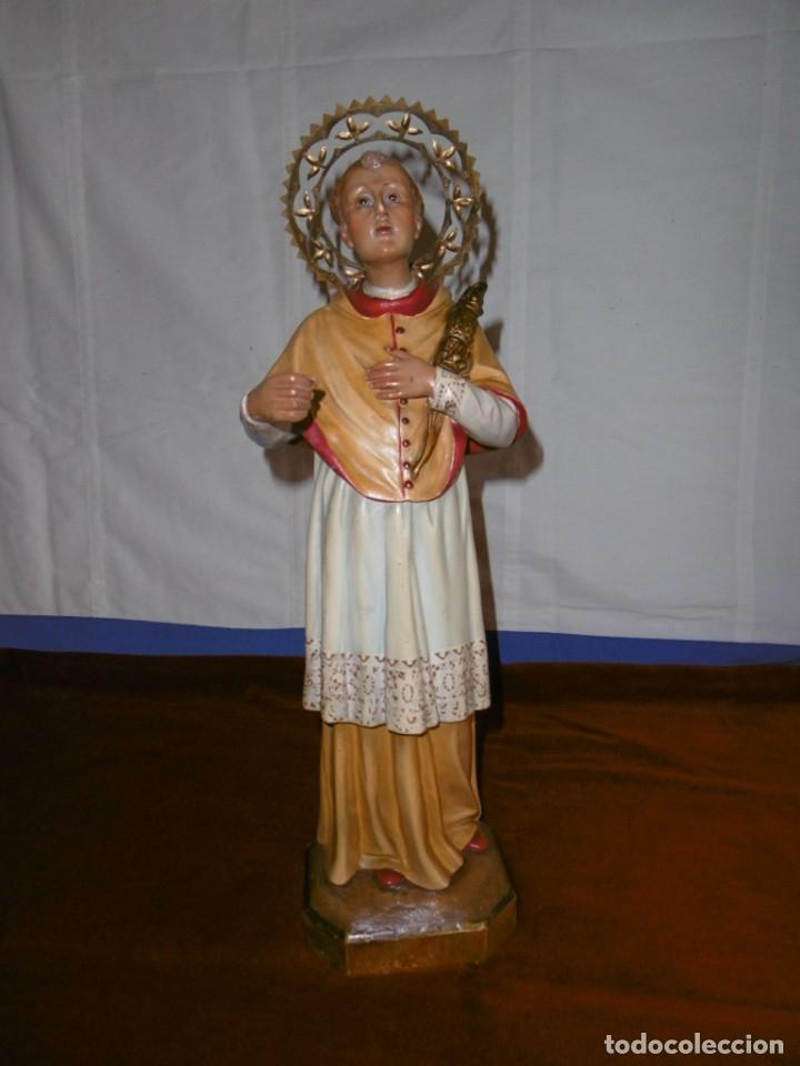 SAN RAMÓN NONATO, FIGURA 40,7 CMS. OLOT. (Antigüedades - Religiosas - Varios)