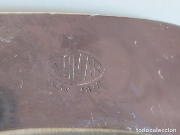 Antigüedades: Salsera acero inoxidable. Marca Nomar. - Foto 5 - 178804897