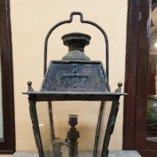 Oggetti Antichi: GRAN LAMPARA DE PETROLEO, S. XIX. ILUMINACION URBANA.. Lote 178816832