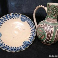 Antigüedades: LOTE DE ANTIGUAS CERAMICAS RESTAURADAS.. Lote 178819838