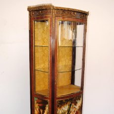 Antigüedades: ANTIGUA VITRINA LUIS XV. Lote 178828153