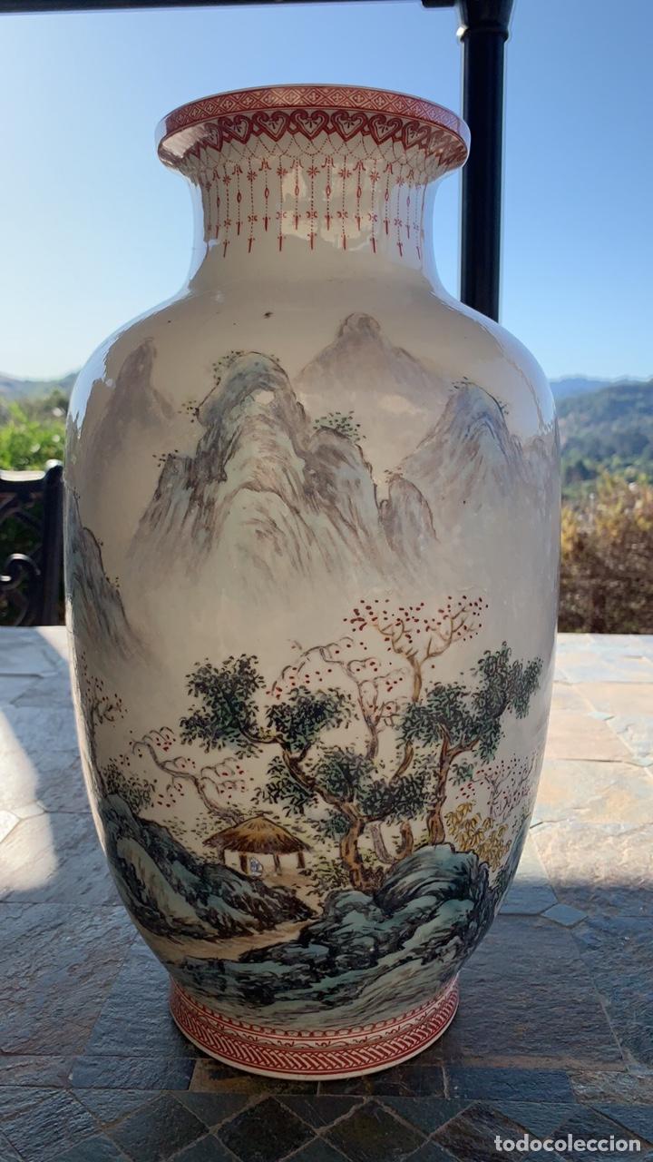 BONITO JARRON CHINO PORCELANA CHINA (Antigüedades - Porcelanas y Cerámicas - China)