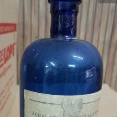 Antigüedades: LOTE BOTELLAS ANTIGUAS MEDICAMENTO FARMACIA. Lote 178872092