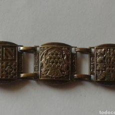 Antigüedades: PULSERA - ESCUDOS DE PARIS. Lote 178794330