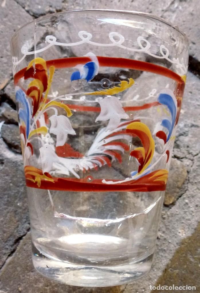 Antigüedades: VASO DE LA GRANJA. SIGLO XVIII - Foto 3 - 178880901