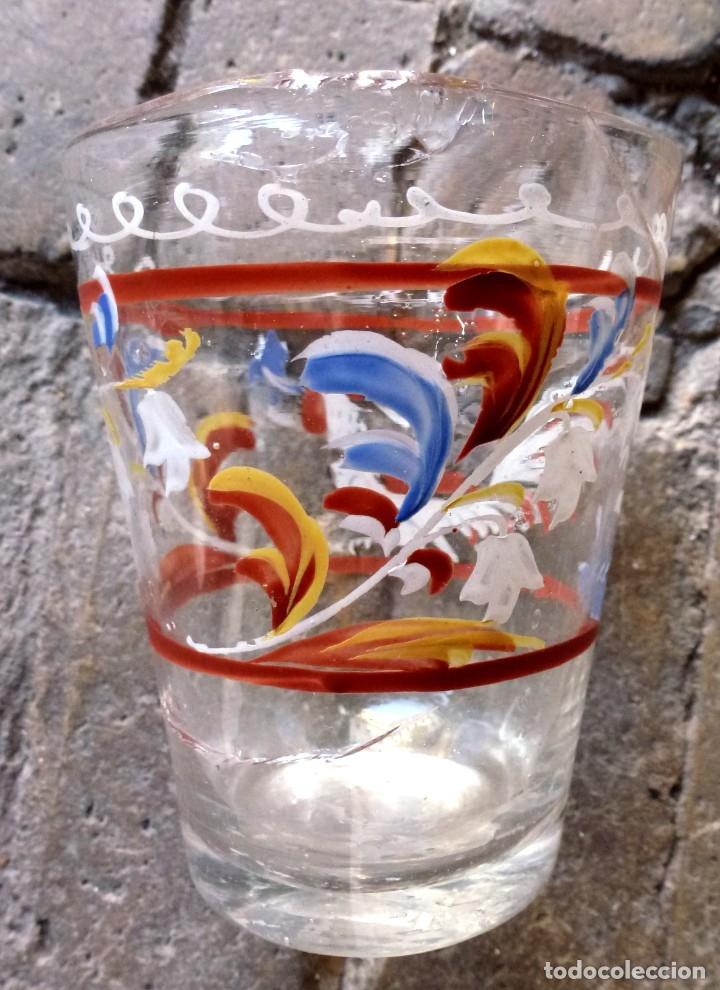 Antigüedades: VASO DE LA GRANJA. SIGLO XVIII - Foto 4 - 178880901