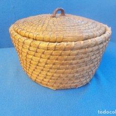 Antigüedades: ANTIGUO ESCRIÑO CON TAPADERA. Lote 178912453