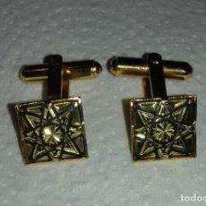 Antigüedades: GEMELOS DAMASQUINADOS. Lote 178912651