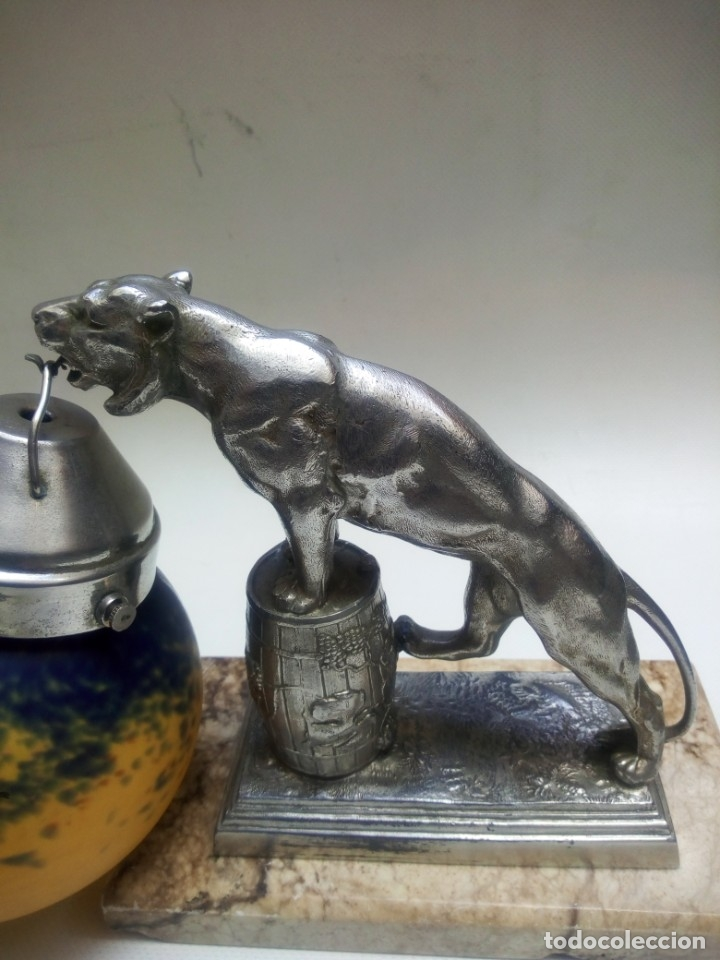 Antigüedades: Pareja de lámparas art deco. - Foto 4 - 178943097