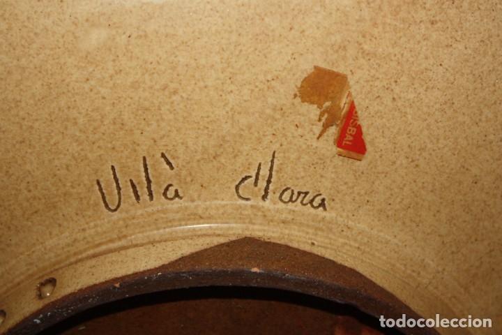 Antigüedades: LOTE DE 6 PLATOS EN CERAMICA DE VILA CLARA (LA BISBAL). MEDIADOS DEL SIGLO XX - Foto 5 - 178943711