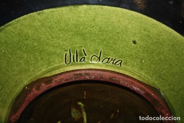 Antigüedades: LOTE DE 6 PLATOS EN CERAMICA DE VILA CLARA (LA BISBAL). MEDIADOS DEL SIGLO XX - Foto 9 - 178943711