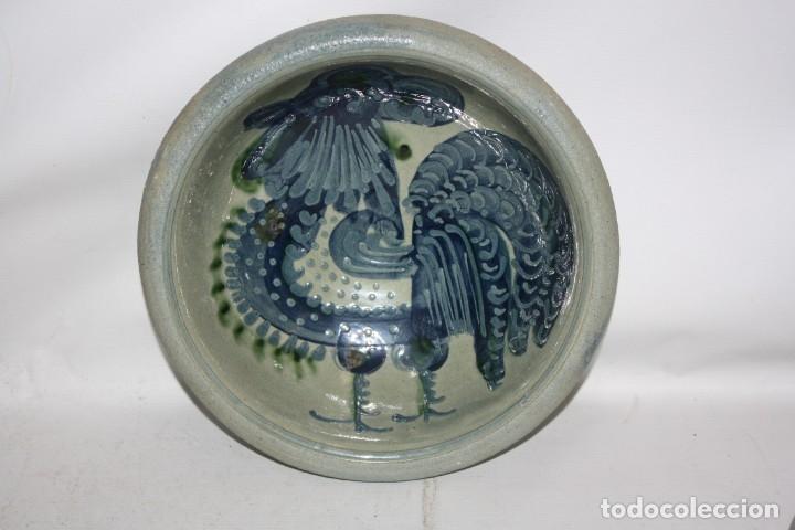 Antigüedades: LOTE DE 6 PLATOS EN CERAMICA DE VILA CLARA (LA BISBAL). MEDIADOS DEL SIGLO XX - Foto 2 - 178944471