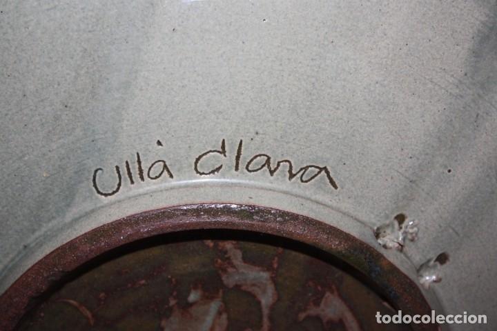 Antigüedades: LOTE DE 6 PLATOS EN CERAMICA DE VILA CLARA (LA BISBAL). MEDIADOS DEL SIGLO XX - Foto 6 - 178944471