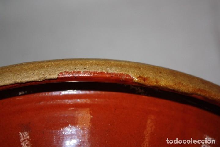 Antigüedades: LOTE DE 6 PLATOS EN CERAMICA DE VILA CLARA (LA BISBAL). MEDIADOS DEL SIGLO XX - Foto 15 - 178944471
