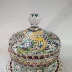 Antigüedades: BONITA BOMBONERA POSIBLE CIRERA. Lote 178945677