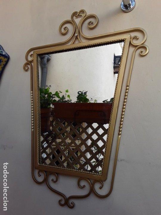 Antigüedades: Espejo de forja - Foto 2 - 178861167