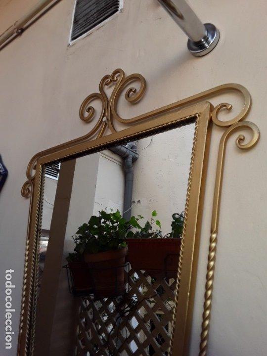 Antigüedades: Espejo de forja - Foto 3 - 178861167