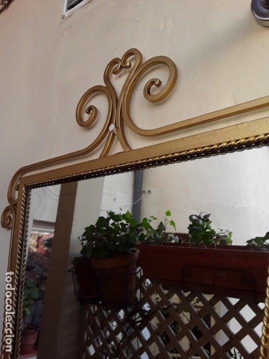 Antigüedades: Espejo de forja - Foto 4 - 178861167