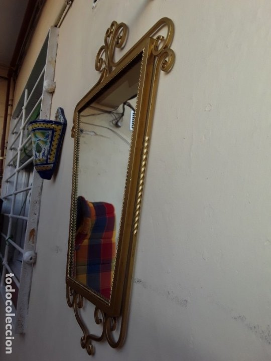 Antigüedades: Espejo de forja - Foto 5 - 178861167