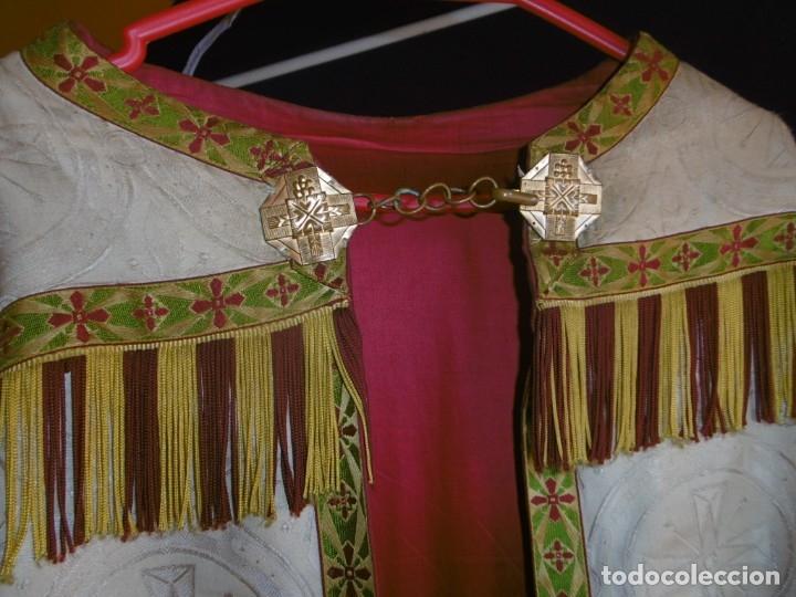 Antigüedades: ANTIGUA CAPA PLUVIAL. LITURGIA. - Foto 3 - 178957310