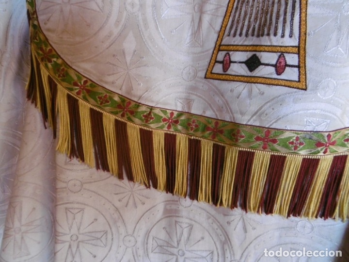 Antigüedades: ANTIGUA CAPA PLUVIAL. LITURGIA. - Foto 13 - 178957310