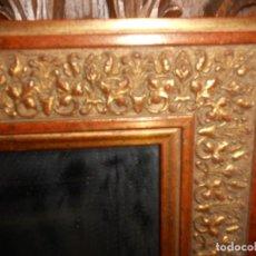 Antigüedades: ESPEJO PAN DE ORO. Lote 178967933