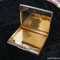 Antigüedades: ANTIGUA CAJA DE CIGARRILLOS. PITILLERA DE PLATA MACIZA1945. BIRMINGHAM 115G.. Lote 179001175