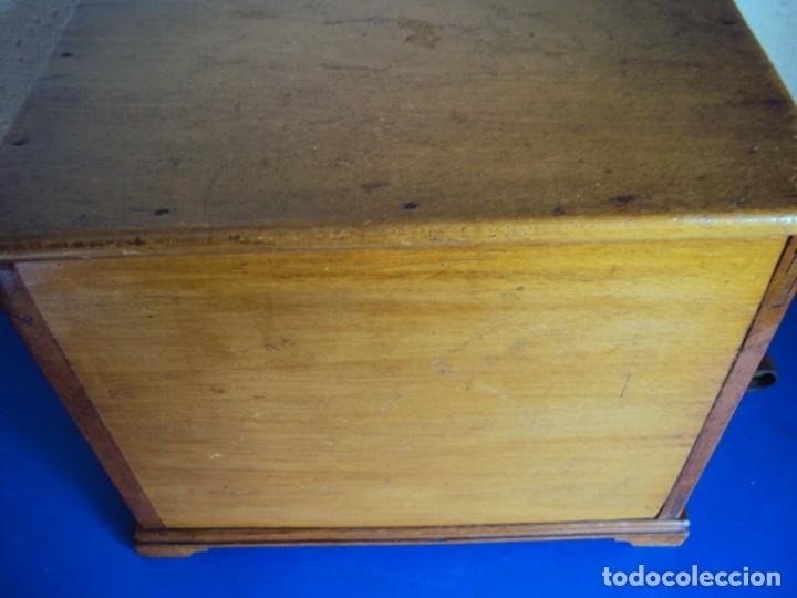 Antigüedades: (ANT-191008)NEVERA PORTATIL DE MADERA - INTERIOR DE ZINC - Foto 13 - 179002907