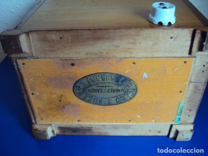 Antigüedades: (ANT-191008)NEVERA PORTATIL DE MADERA - INTERIOR DE ZINC - Foto 16 - 179002907