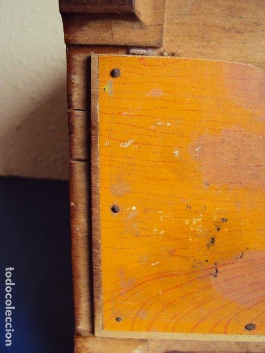 Antigüedades: (ANT-191008)NEVERA PORTATIL DE MADERA - INTERIOR DE ZINC - Foto 17 - 179002907