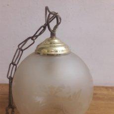 Antigüedades: LAMPARA GLOBO. Lote 179011967
