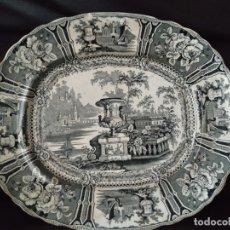 Antigüedades: 1862 BANDEJA SARGADELOS, TERCERA EPOCA. PERFECTO ESTADO. Lote 179037731