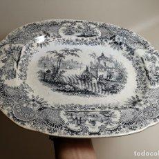 Antigüedades: FUENTE BANDEJA PICKMAN SIGLO XIX--PERFECTA !!!. Lote 179038021