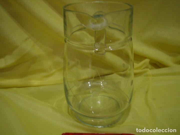 Antigüedades: Cristalería cristal tallado al ácido, de Vicrila España, 61 piezas, años 80, Nueva cajas originales. - Foto 21 - 104976959