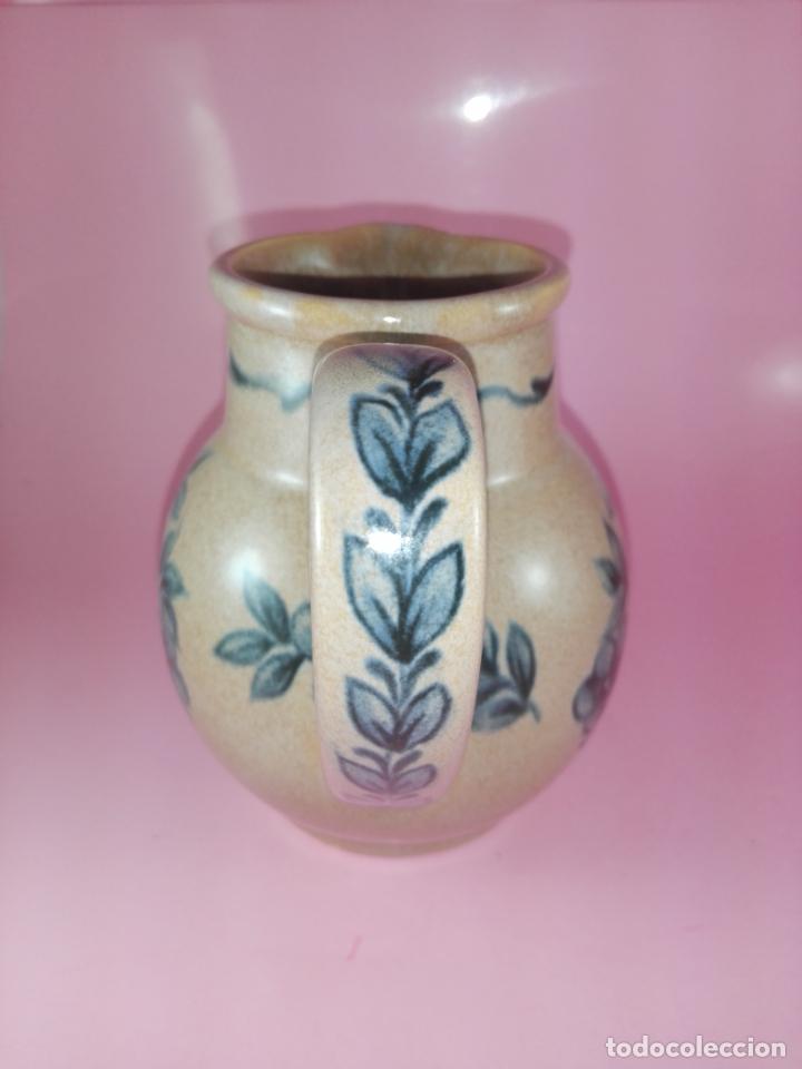Antigüedades: JARRA-CERÁMICA-SAN CLAUDIO-VIEJA ESPAÑA-COLECCIONISTAS-IMPOLUTA-VER FOTOS - Foto 3 - 179079442