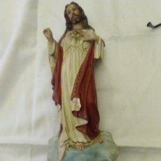 Antigüedades: SAGRADO CORAZÓN DE JESÚS MUY ANTIGUO. Lote 179080963